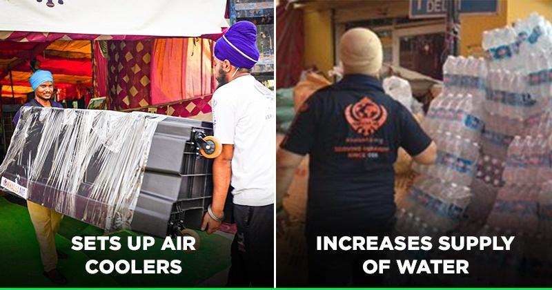 This Is How Khalsa Aid Is Helping Agitating Farmers Beat The Heat At Protest Sites In Delhi - Indiatimes.com