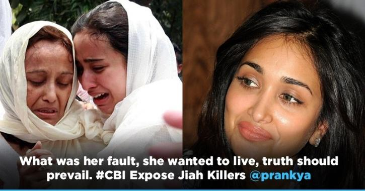 'CBI Expose Jiah Killers' Trends On Twitter, People Demand Justice For The Late Actress