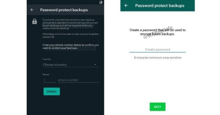 Backup WhatsApp chats on Google Drive