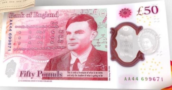 Alan turing 50 pound note