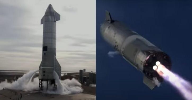 SpaceX Starship SN10 successful landing
