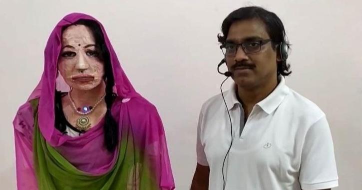 Shalu Indian IIT humanoid robot