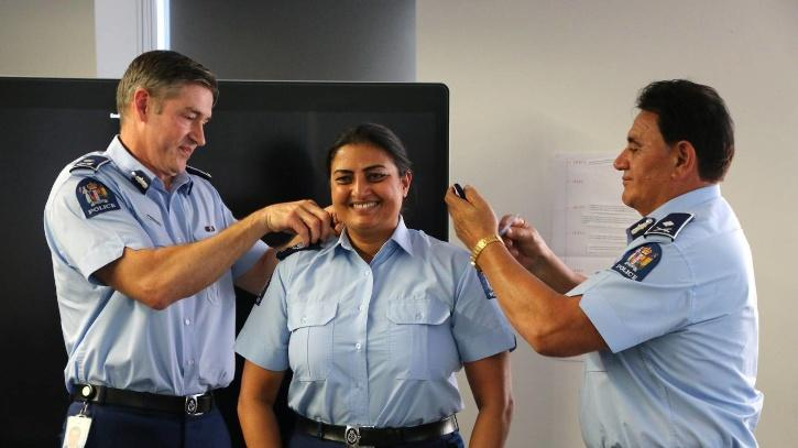 First Indian Officer in NZ Police