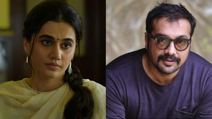 Taapsee Pannu and Anurag Kashyap / Indiatimes