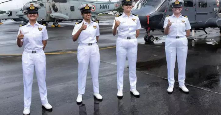 Indian women naval warships