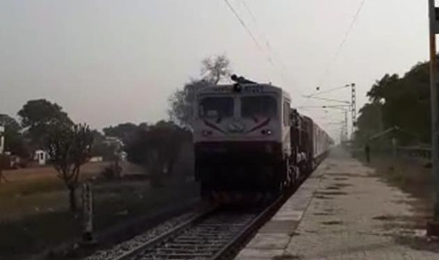 The Purnagiri Janshatabdi Express was on its way to Uttarakhand's Tanakpur