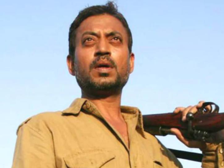 Irrfan Khan as real baaghi in Paan Singh Tomar.