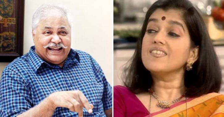 Satish Shah and Ratna Pathak Shah from Sarabhai VS Sarabhai.
