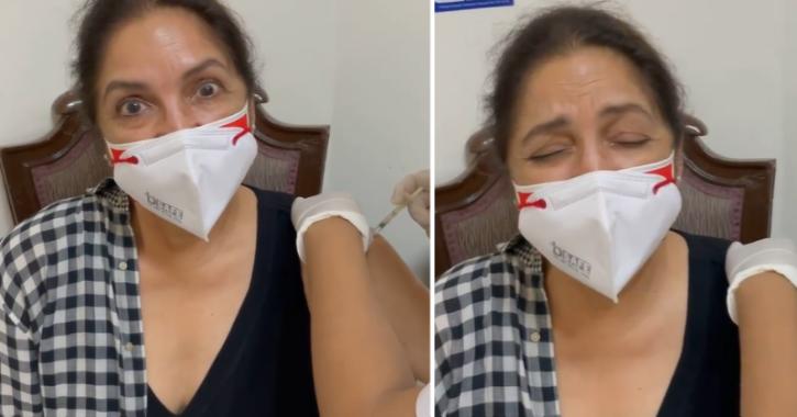 A Terrified Neena Gupta Screams