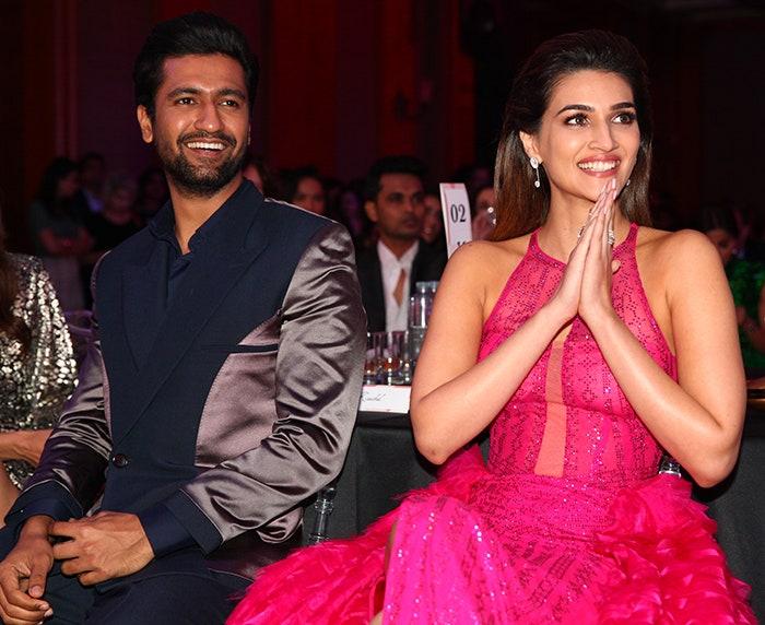 Vicky Kaushal and Kriti Sanon / Twitter