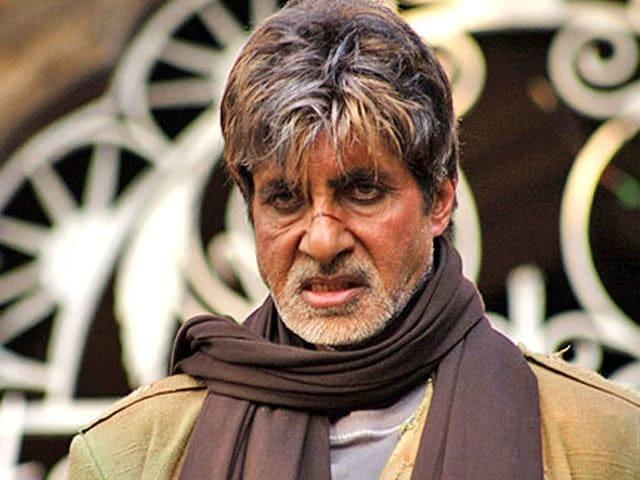 Amitabh Bachchan in Aag / Twitter