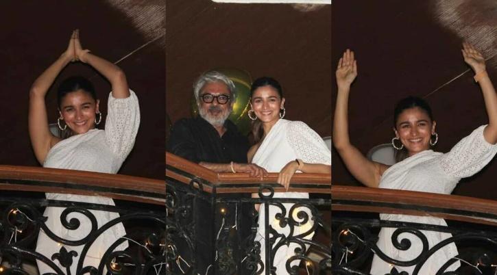 Alia Bhatt with Sanjay Leela Bhansali / Viral Bhayani