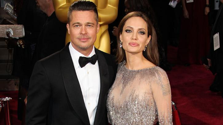 Angelina Jolie and Brad Pitt / Getty Images