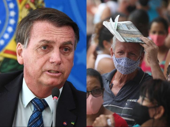 bolsonaro covid whining comment