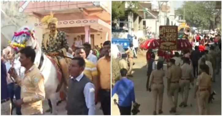 dalit wedding police gujarat