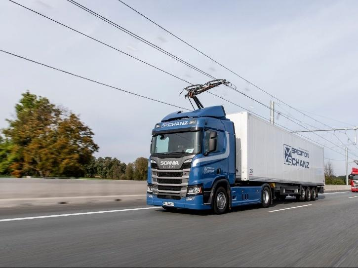 Siemens eHighway India Germany Project