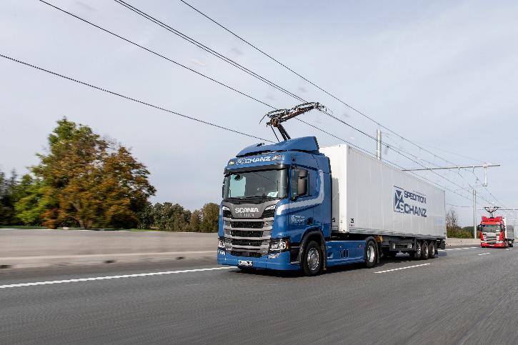 Siemens eHighway in Germany