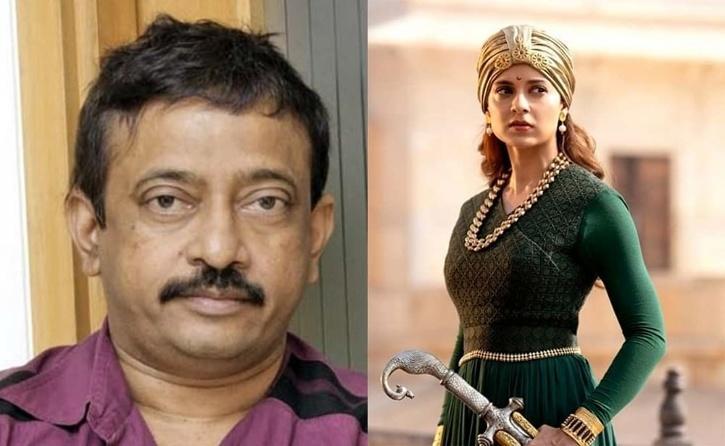 Kangana Ranaut and Ram Gopal Varma / Indiatimes