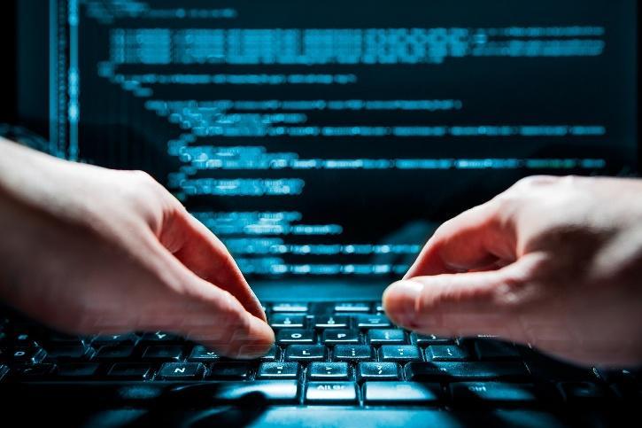 Cyber criminal hacker attack