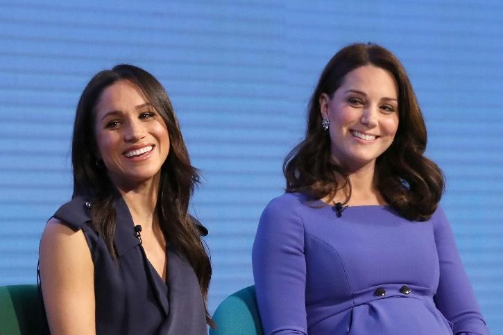Kate Middleton and Meghan Markle / Getty Images