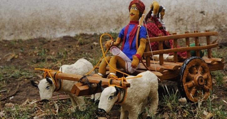 jhabua tribal dolls