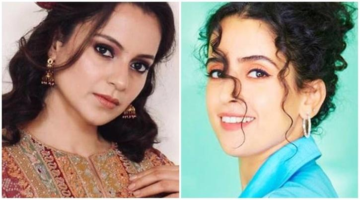 Kangana Ranaut and Sanya Malhotra / Indiatimes