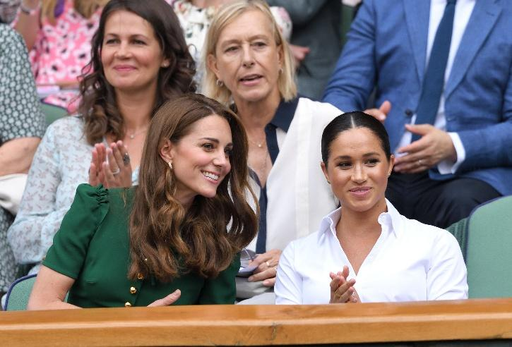 Kate Middleton and Meghan Markle / Vanity Fair