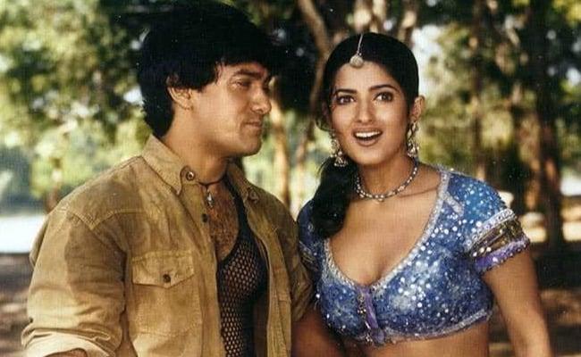 Twinkle Khanna and Aamir Khan in Mela / Twinkle Khanna Twitter