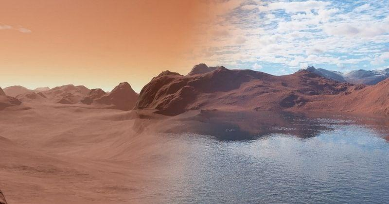 Mars still has oceans of water buried beneath the surface, study finds