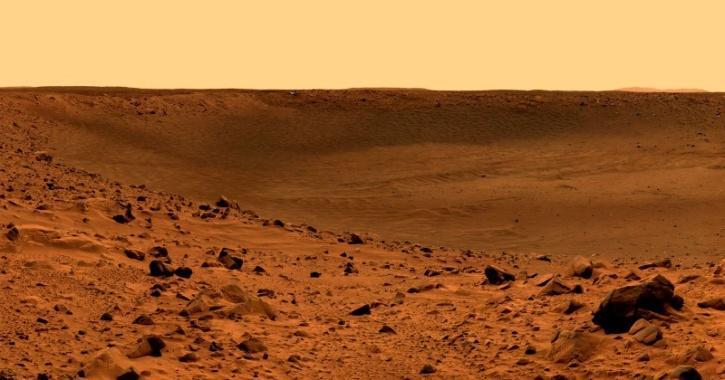 Mars wind sound