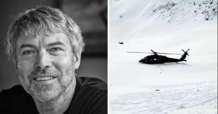 crash helicopter skiing richest man