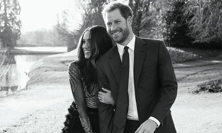 Prince Harry and Meghan Markle / Hello Magazine