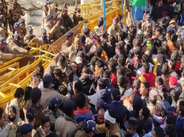 Uttarakhand Protest
