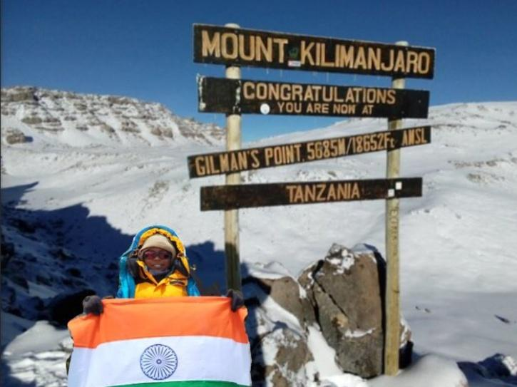 rithvika youngest to climb kilimanjaro