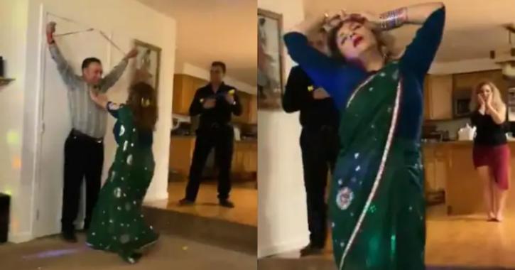 Sholay dance iranian woman