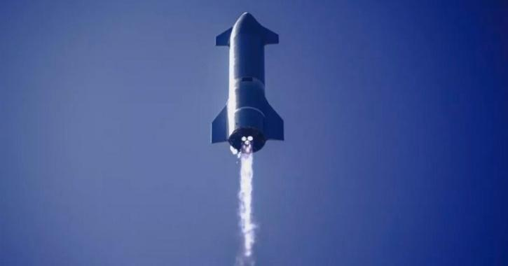Starship SN10 prototype