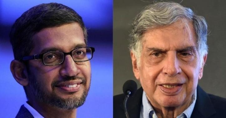 Google Sundar Pichai Ratan Tata
