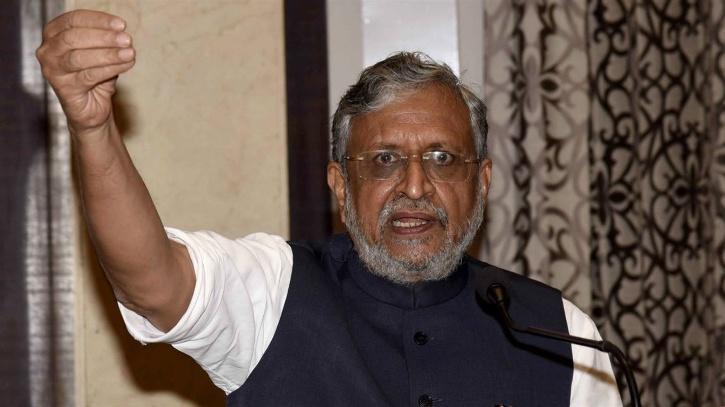 Sushil Modi BJP Rajya Sabha Member