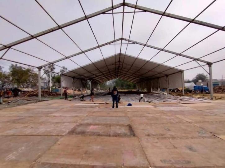 tents-raised