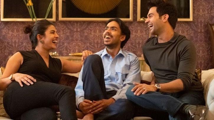 Rajkumar Rao, Adarsh Gourav and Priyanka Chopra Jonas / The White Tiger Netflix