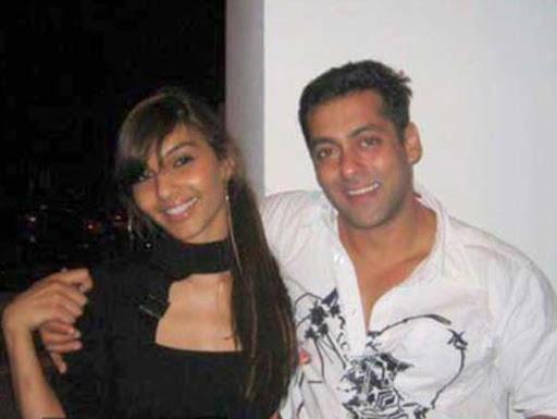 Somy Ali and Salman Khan / Twitter