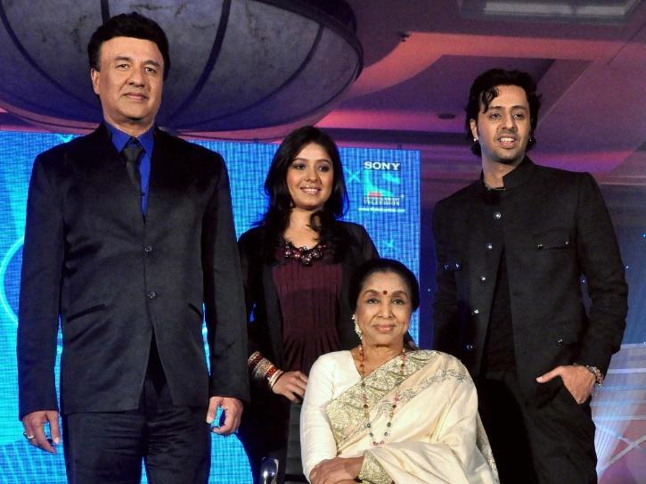 Sunidhi Chauhan on Indian Idol