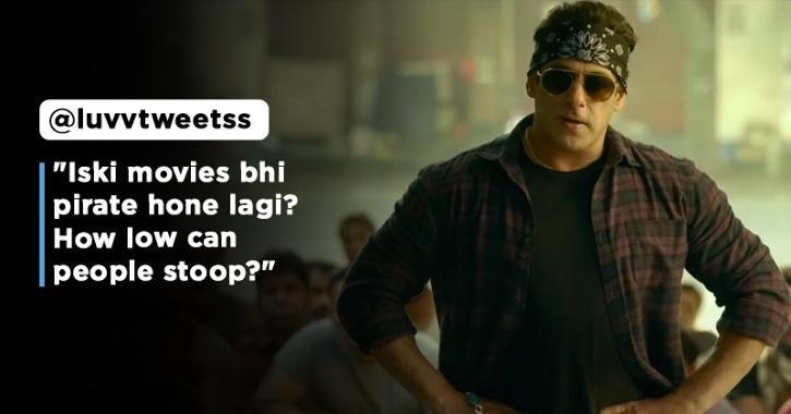 Furious Salman Khan Slams People For Pirating Radhe Despite