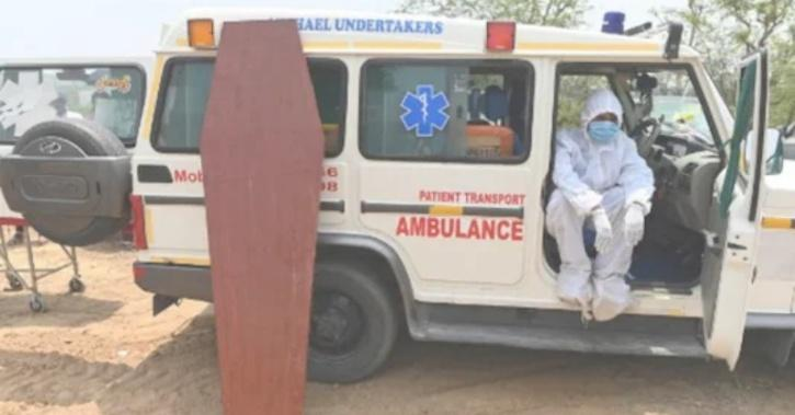 Ambulance driver who helped covid patients