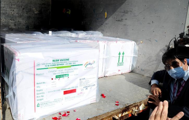 india Covid vaccine Import