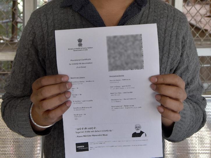 Vaccine certificate