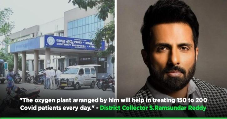 Sonu Sood Launches Two Oxygen Plants In Andhra Pradesh, Will Set Up More In Other States Soon