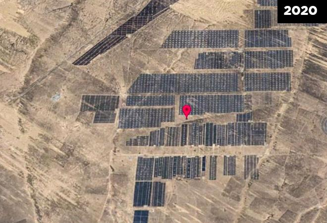 Fighting Global Warming: A Solar Power Plant in China