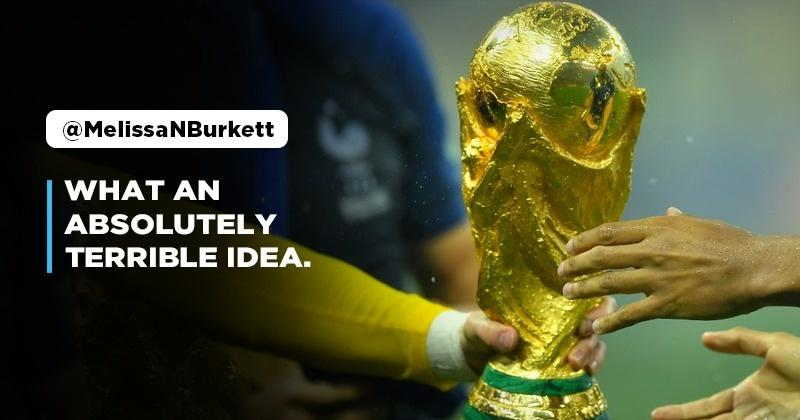 FIFA To Consider Holding Football World Cup Every 2 Years Instead Of 4; Social Media Divided