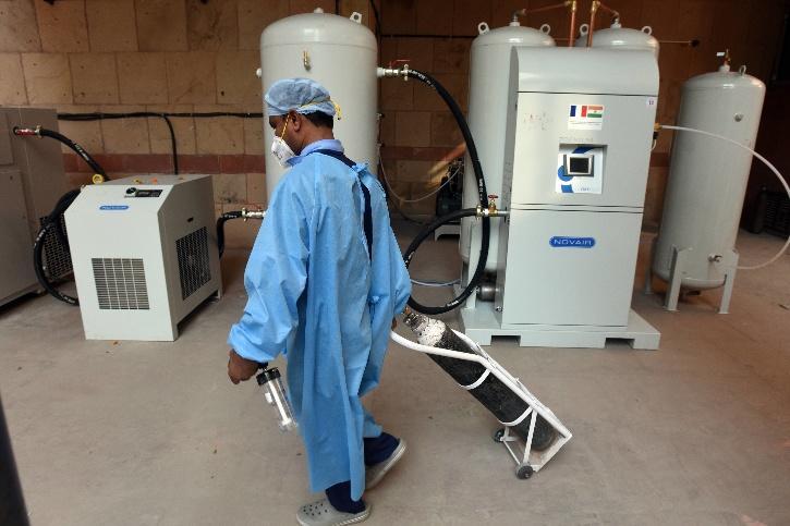 covid hospital oxygen